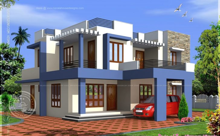 Box Type Bedroom Villa Kerala Home Design Floor Plans