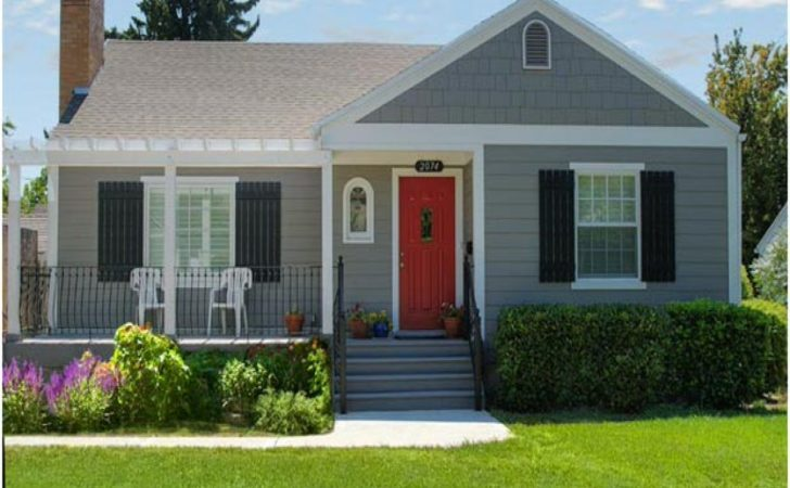 Brick Decorating Ideas Cottage Curb Appeal Small