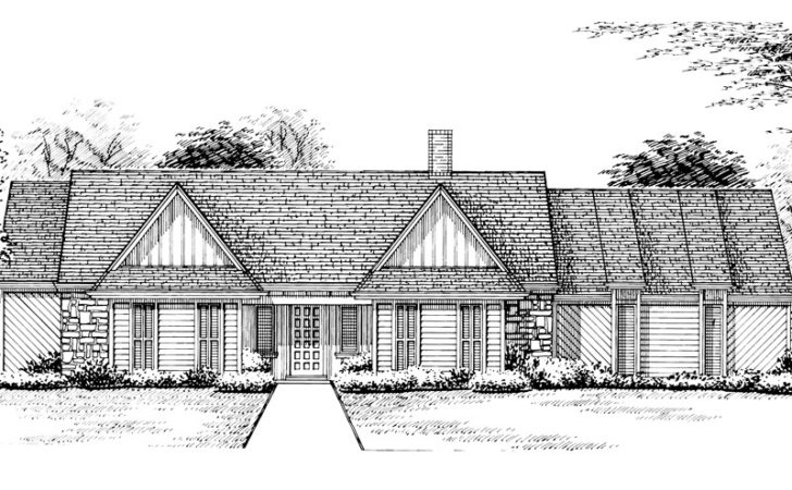 Brownsville Southern Ranch Home Plan House