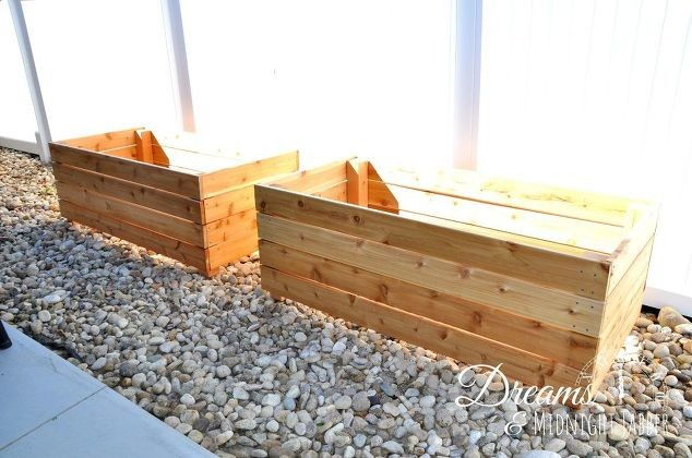 Build Attractive Backyard Planter Boxes Hometalk
