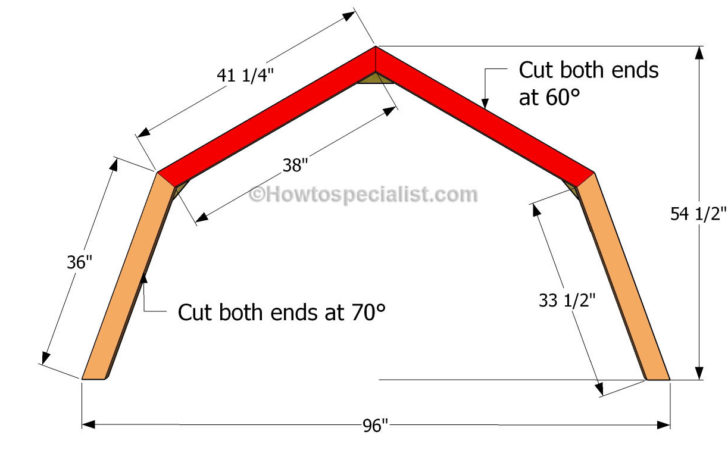 Build Barn Style Shed Roof Trusses Goehs