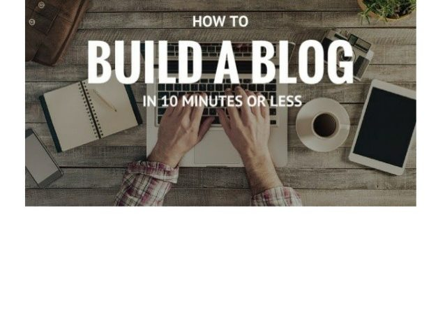 Build Blog Minutes Less