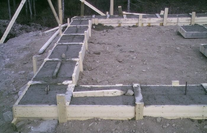 Build Cement Basement Footings Plans House Shed Garage