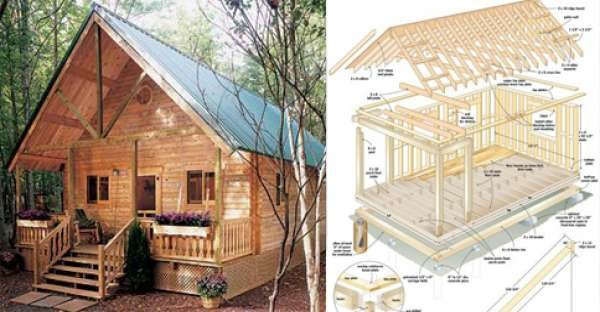 Build Cozy Cabin Under Home Design
