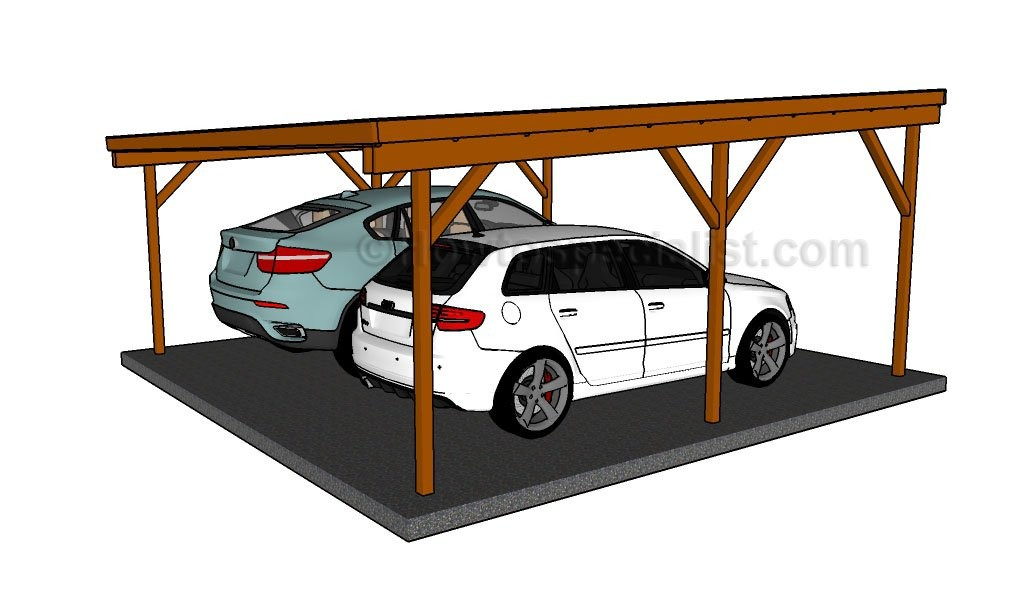 Build Double Carport Howtospecialist