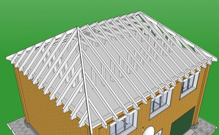 Build Gambrel Roof Sequence Work