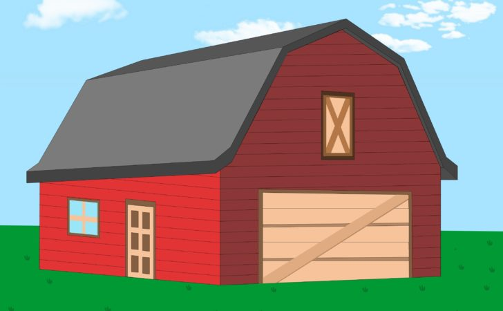 Build Gambrel Roof Steps Wikihow