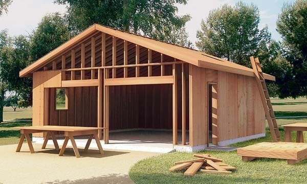 Build Garage Construction Plan