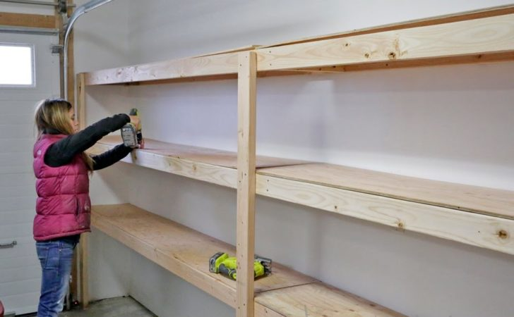 Build Garage Shelving Easy Cheap Fast Youtube