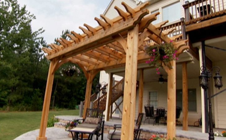 Build Garden Pergola Tos Diy