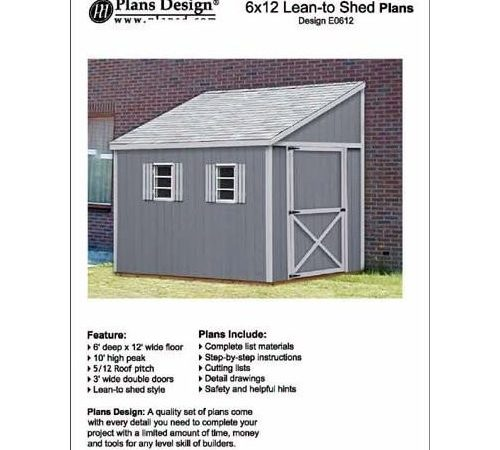 Build Lean Shed Plans Quick Woodworking Projects