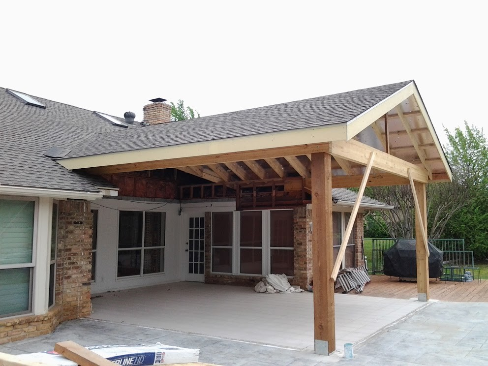 Build Patio Cover Intended Provide Home