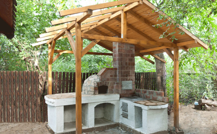 Build Pizza Oven Shelter Howtospecialist