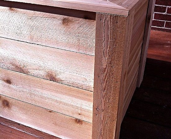 Build Planter Box Economically Southern Wild