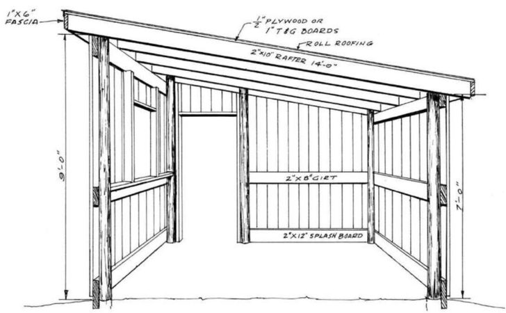 Build Pole Shed Plans Quick Woodworking