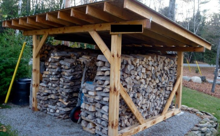Build Simple Wood Storage Shed Nortwest