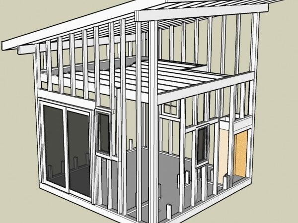 Build Small Shed Plans Designs
