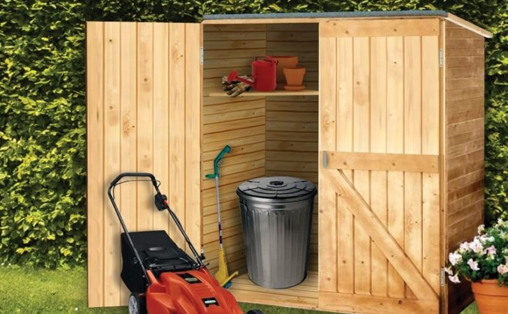 Build Small Wooden Storage Shed Quick