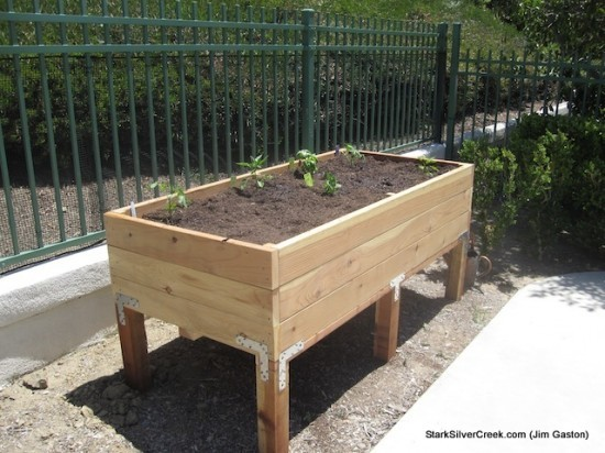 Build Vegetable Planter Box Variations