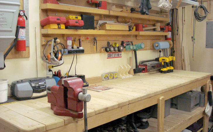 Build Your Own Garage Workbench Done Right
