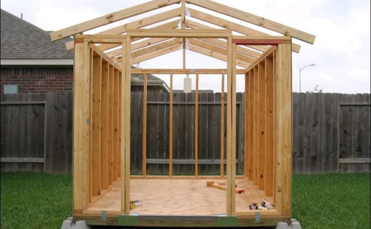 Build Your Own Garden Shed Storage Kits