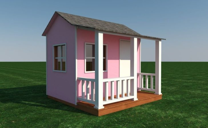 Build Your Own Shed Playhouse Kids Diy Plans