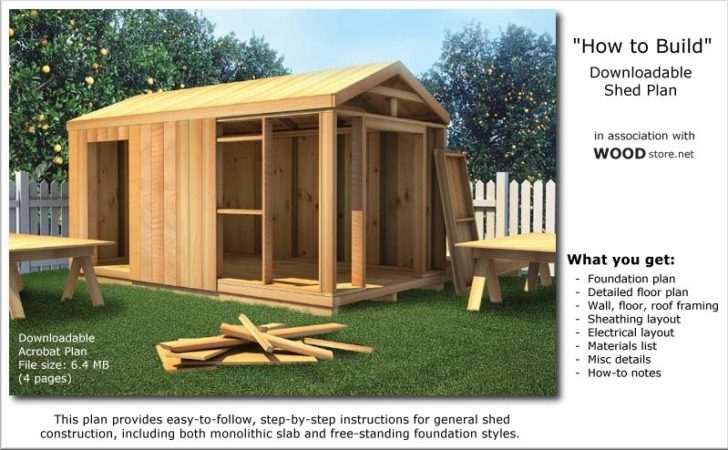 Build Your Own Utility Storage Gable Building