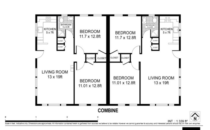 Building Floor Plan Montauk Beach Bungalow