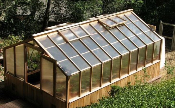 Building Greenhouse Plans Modern Gardening Your