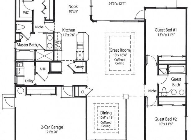 Building House Plans Houses Square Feet