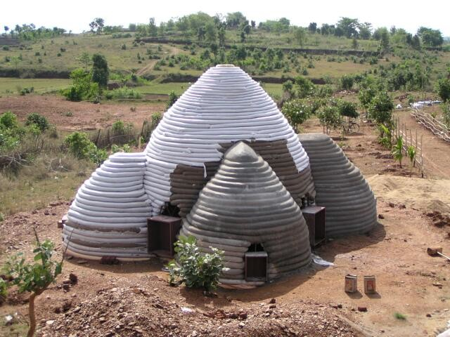 Building New Home Poured Earth Green Planet Ethics