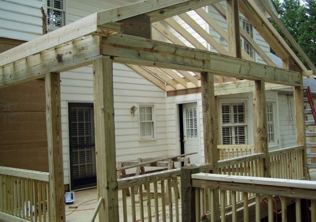 Building Screened Porch