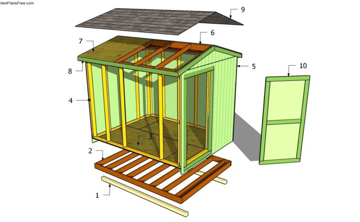 Building Shed Roof Garden Plans Build