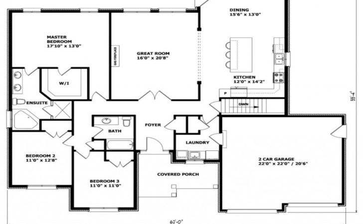 Bungalow Floor Plans Canada Small House
