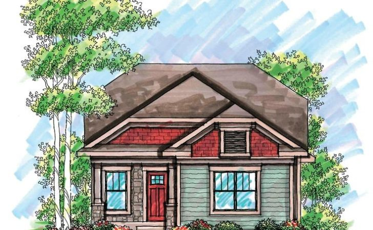 Bungalow House Plans Narrow Lots Cottage