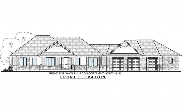 Bungalow House Plans Ontario Canada Plan