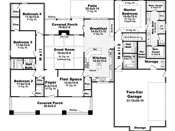 Bungalow Style House Plans Plan