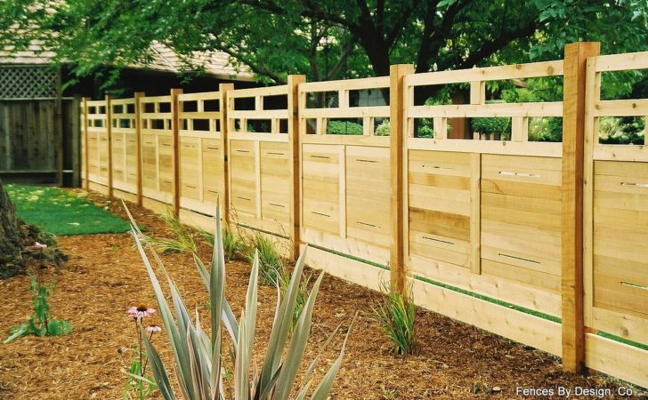Business Modular Architectural Redwood Fencing