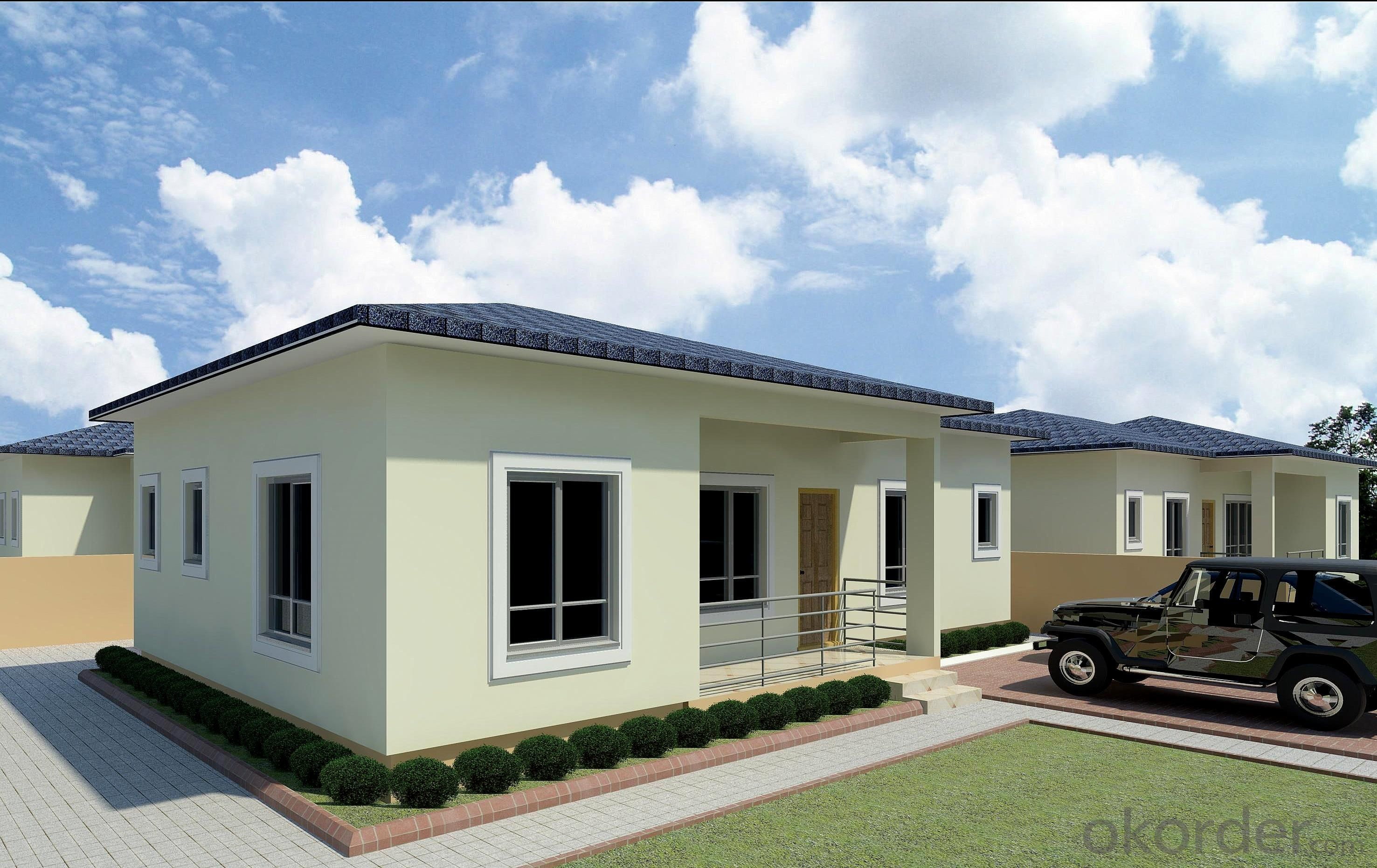 Buy Economical Steel Structure Prefab Villa Price