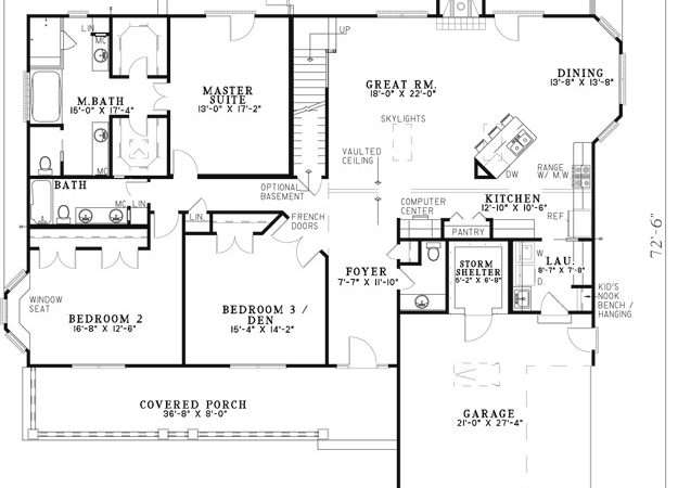 Cabin Floor Plans House Plan Valine