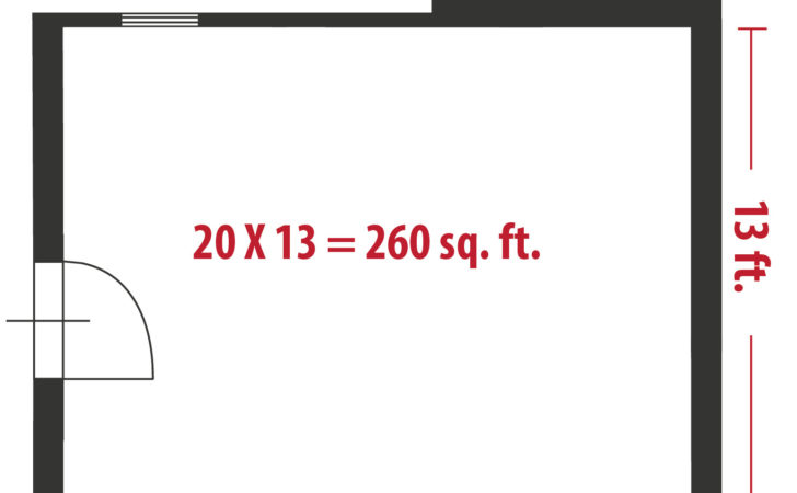 Calculate Square Feet Even Your Home