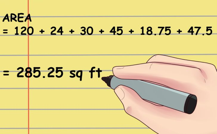Calculate Square Footage Room