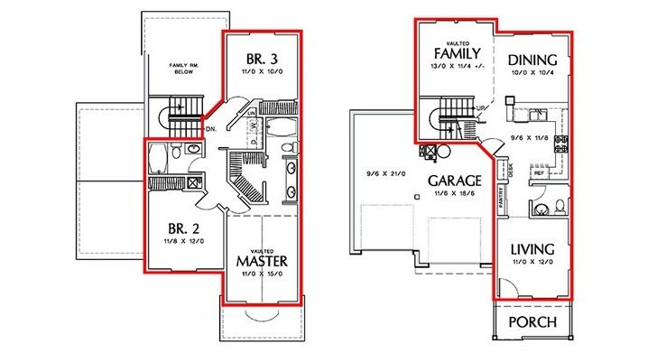 Calculating Square Footage Residential Homes