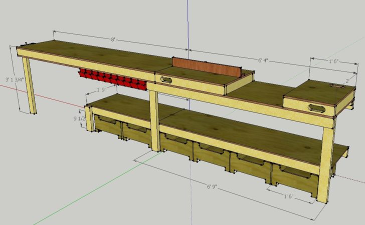 Callsign Ktf Plans Custom Garage Workbench