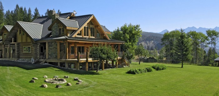 Canadian Log Home Builders House Plans Canada Usa
