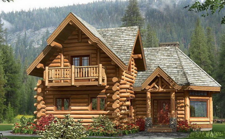 Canadian Log House Spruce Picea Abies Whitewood