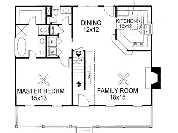 Cape Cod House Plans Master Bedroom First Floor