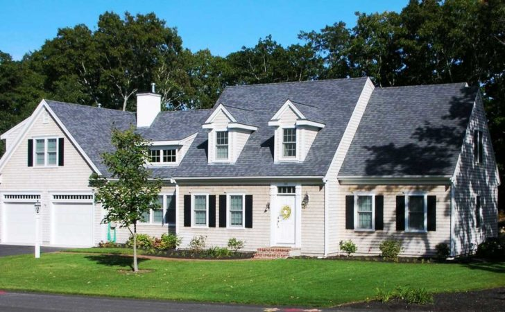 Cape Cod Style House Plans Garage Cream Wall