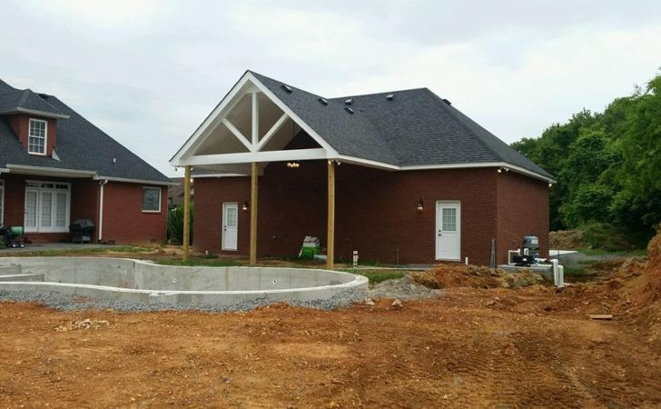 Car Detached Garage Pool House Clarksville Quality Homes