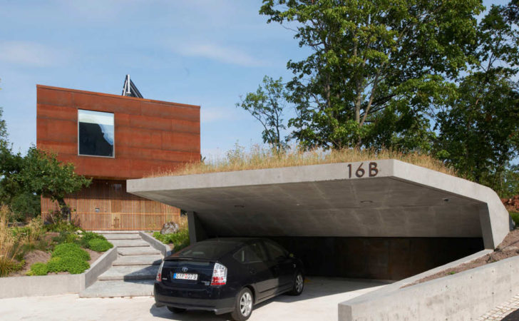 Car Garage Concepts More Than Just Parking Spaces